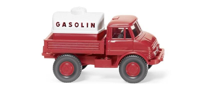 Unimog U 406 Gasolin, 1:87 / H0