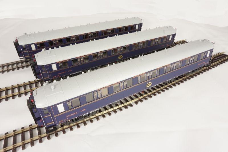 Wagen-Set S2 der CIWL 1. Klasse, 3-tlg, Epoche II, Spur H0