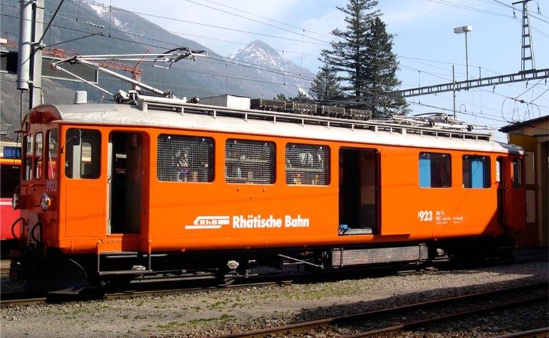 Xe 4/4 9923 Bernina Bahndiensttriebwagen der RhB, Spur H0m