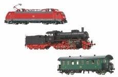 Lokomotiven und Wagen