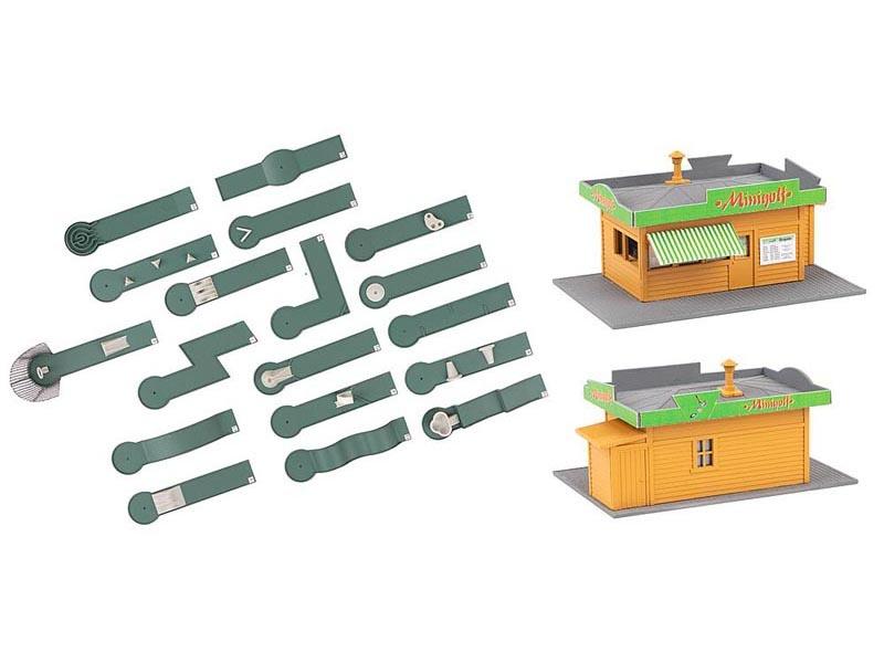 Minigolfplatz Bausatz, Spur H0