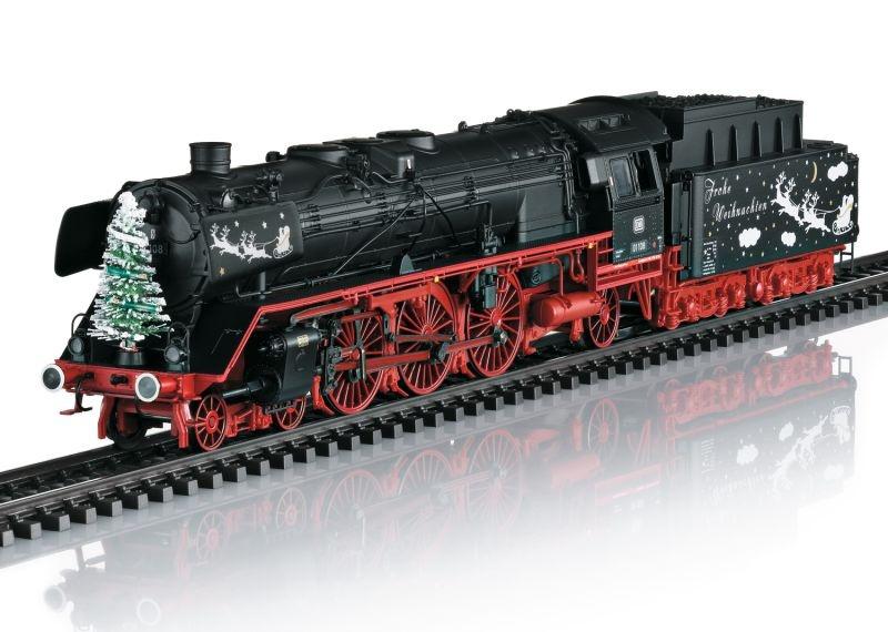 Weihnachts-Dampflok BR 01 der DB, Sound, mfx, Spur H0