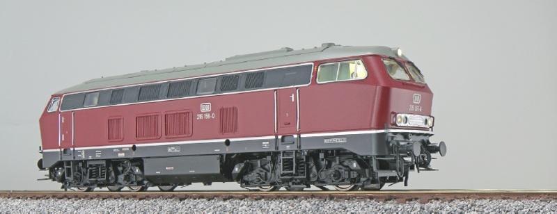 Diesellok BR 216 156 DB, altrot, Sound+Rauch, DC/AC H0