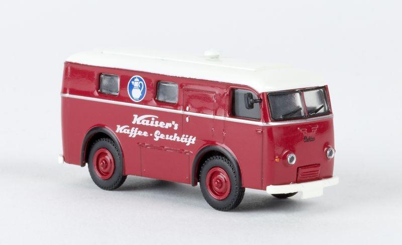 Elektro-Paketwagen Kaiser´s Kaffee, Spur H0