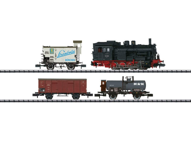 Zug-Set Gütertransport DRB Spur N