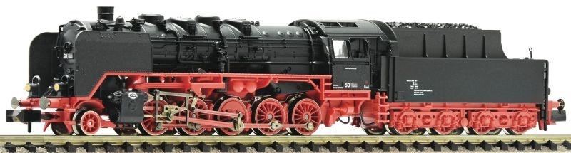 Dampflokomotive BR 50 der DRG, DC, Spur N