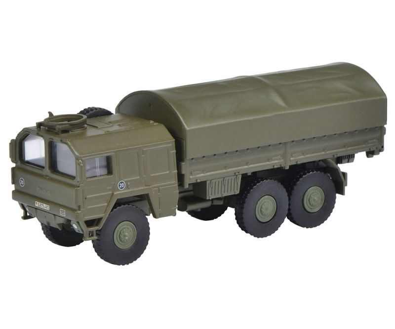 MAN 7t GL Lkw Bundeswehr, grün 1:87 / Spur H0
