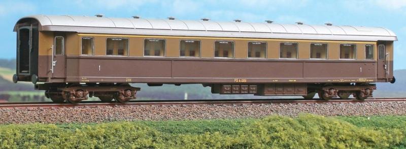 Abteilwagen 1.Klasse Typ Az 13000 der FS, DC, Spur H0