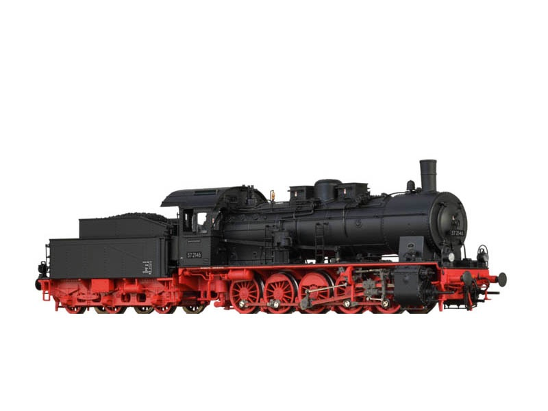 Dampflok 57.10 der DB, III, DC Digital Extra, Sound, Spur H0