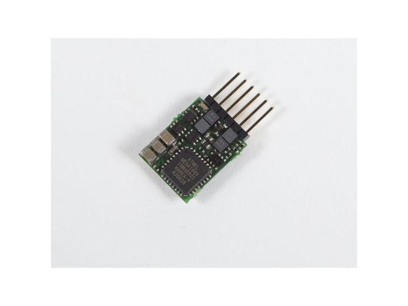Lokdecoder Gold mini+ 0,5 / 0,8A, mit Schnittstellenst. NEM