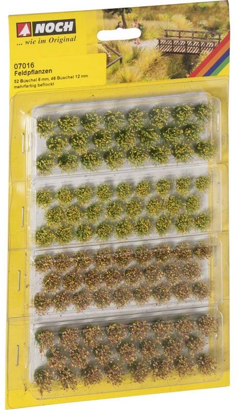 Grasbüschel Feldblumen, 98 Stück