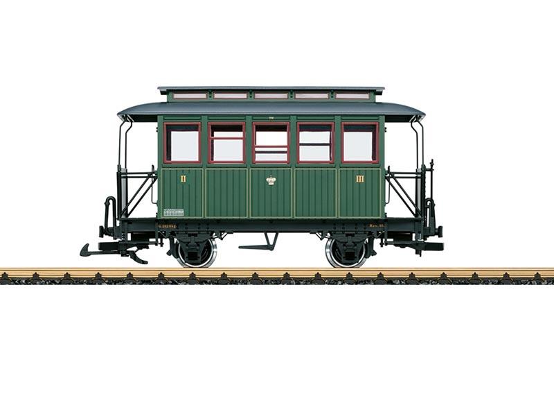 Personenwagen 3. Klasse k.sä.St.E., Spur G