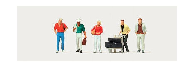 Reisende (Einzeln) Figuren 1:160 / Spur N