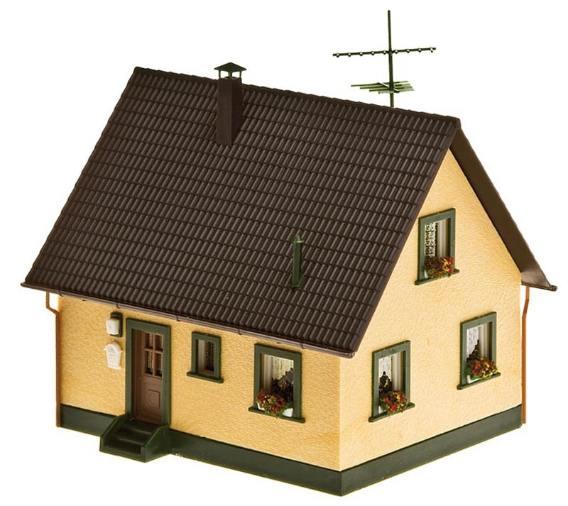 Einfamilienhaus Bausatz H0