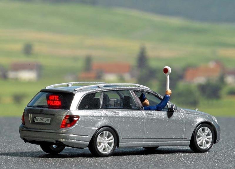 Mercedes Benz C-Klasse, T-Modell »Bitte folgen«, Spur H0