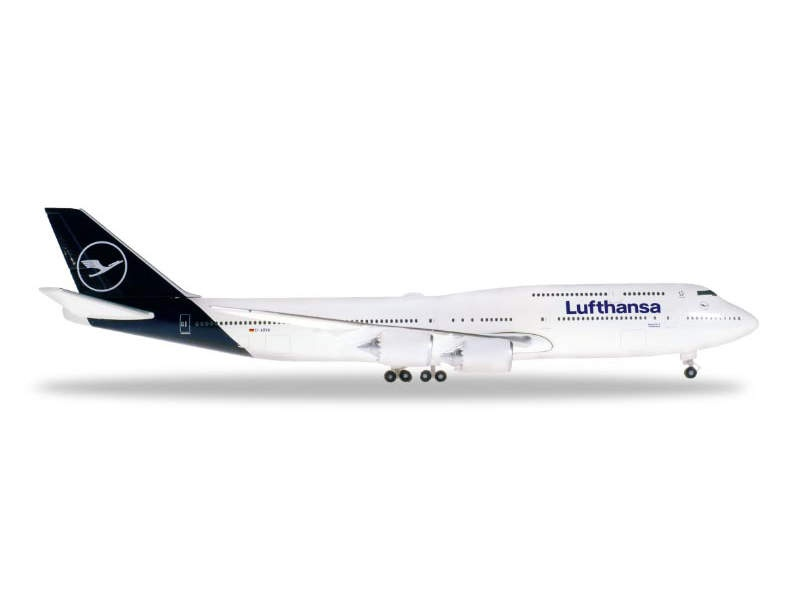 Lufthansa Boeing 747-8 Intercontinental - new colors, 1:500