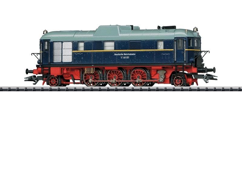 Museums-Diesellok V 140 001, DRG, Sound, mfx, DC, Spur H0