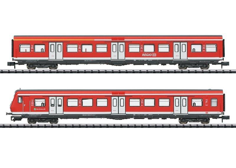 Personenwagen-Set S-Bahn der DB Regio, Ep.VI, Spur N