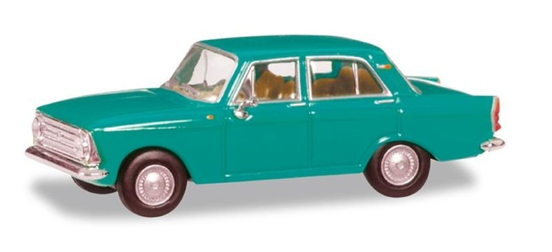 Moskwitsch 408, mintgrün, 1:87 / H0