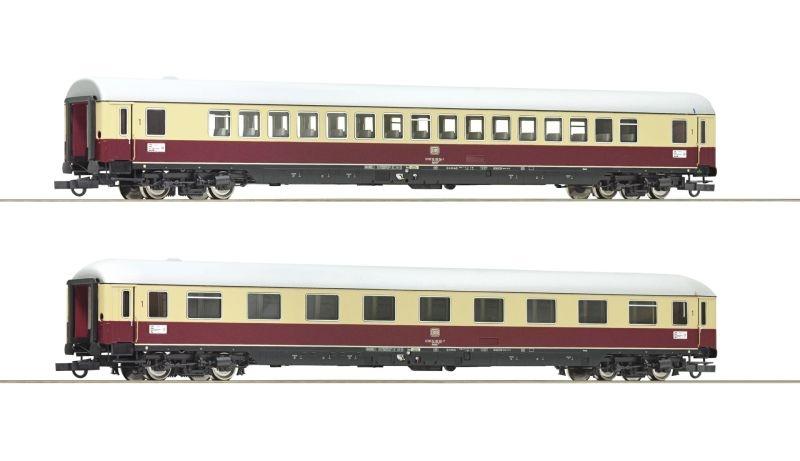 2-tlg. Set 3: TEE 74/75 Roland, DB, DC, Spur H0