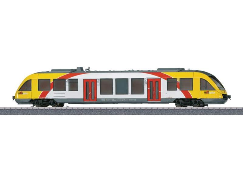 Start up - Nahverkehrs-Dieseltriebwagen LINT 27 Sound mfx H0