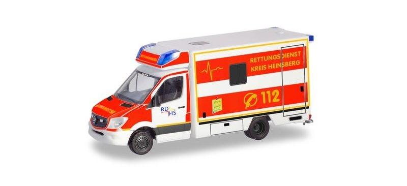 Mercedes-Benz Sprinter `13 Fahrtec RTW, 1:87 / H0
