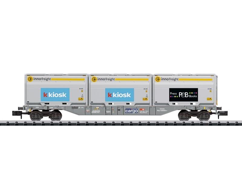 Containertragwagen der SBB, Innofreight, Minitrix Spur N