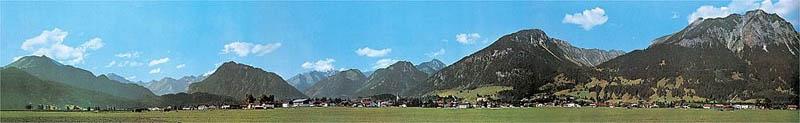 Modellhintergrund-Verlängerung Oberstdorf 2900 x 450 mm