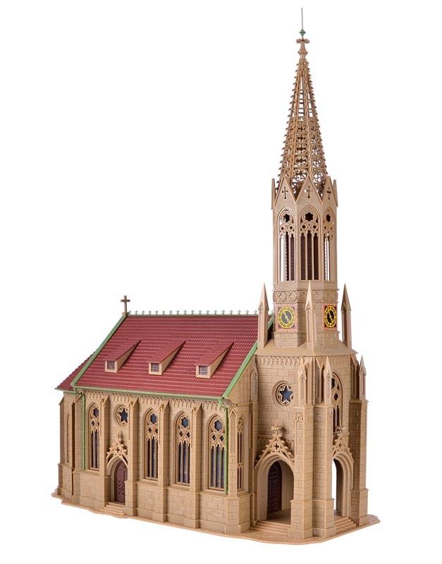 Stadtkirche Stuttgart-Berg, Bausatz, Spur H0
