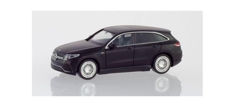 Mercedes-Benz EQC AMG, mattschwarz, 1:87 / H0