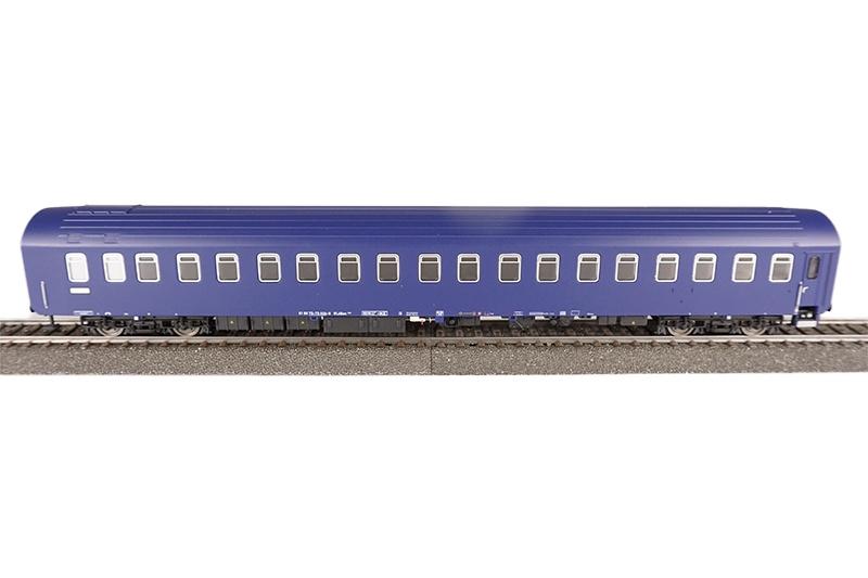 Schlafwagen T2s, blau, CNL, Epoche lV/V, DC, Spur H0