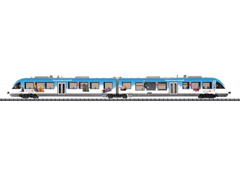 Diesel-Triebzug LINT Baureihe 648.1 DB AG Spur N