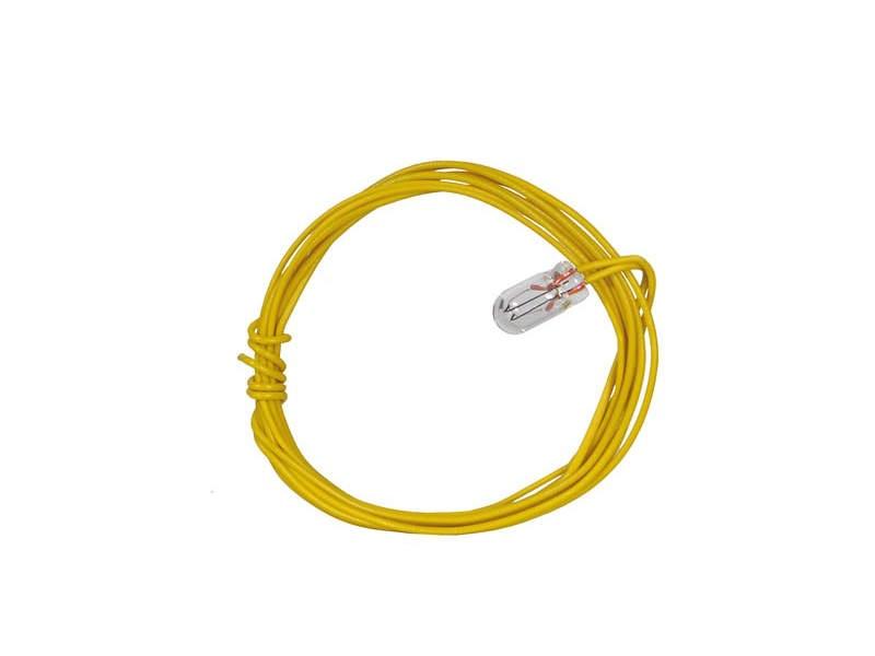 Glühlampe klar T1, Ø 3,2 mm, 16 V, 30 mA, 2 Kabel