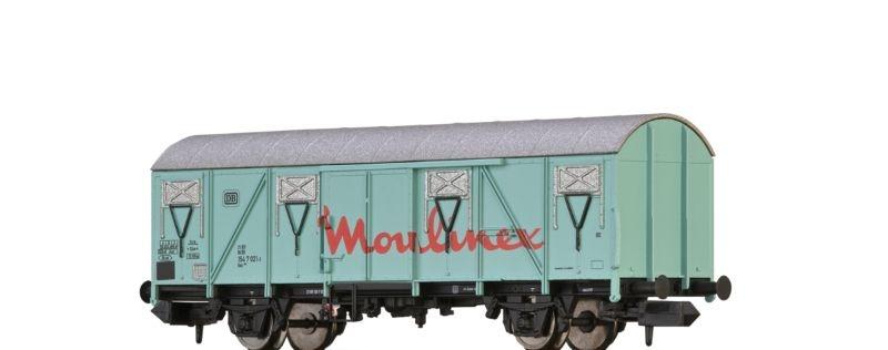 Gedeckter Güterwagen Gos Moulinex der DB,Epoche IV, Spur N