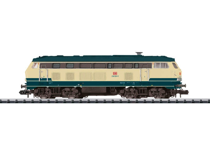 Diesellok Baureihe 218 320-0 Lotte DB AG Spur N