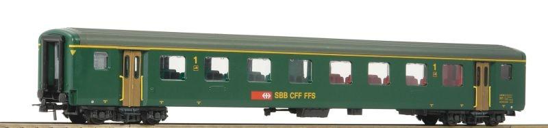 Schnellzugwagen EW II 1. Klasse der SBB, DC, Spur H0