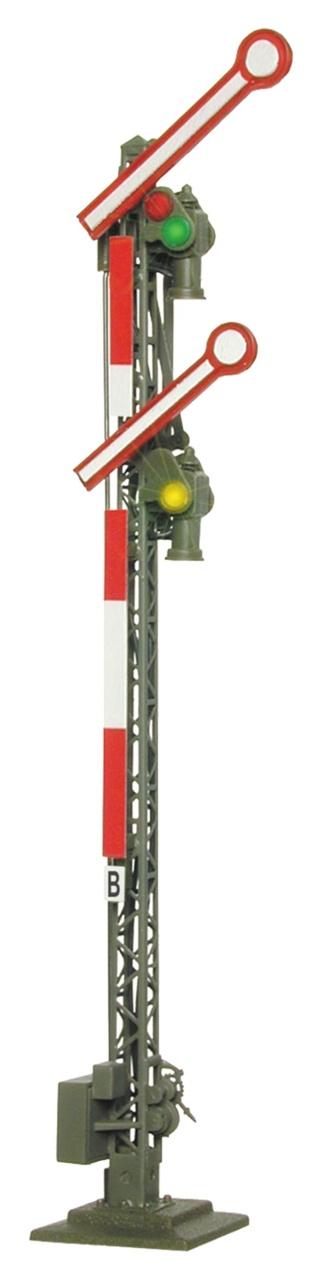 Form-Hauptsignal, mit zwei gekoppelten Flügeln, Spur H0