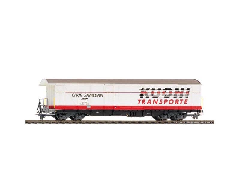 Großraumgüterwagen Kuoni Gak-v 5420 der RhB, Spur H0m