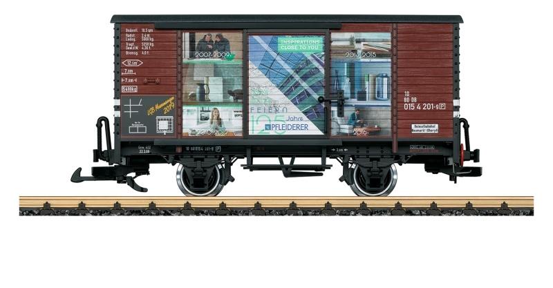 Museumswagen 2019, Gedeckter Güterwagen, Spur G