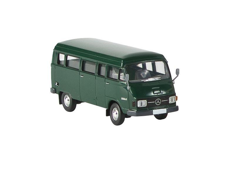 MB L 206 D Kombi, grün von Starmada, Spur H0