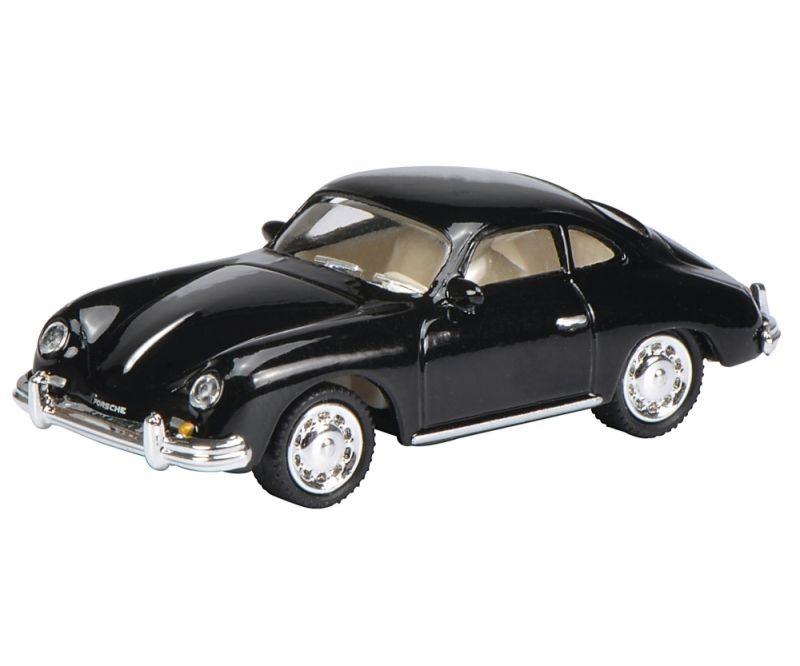 Porsche 356A Coupé, schwarz 1:87 / Spur H0