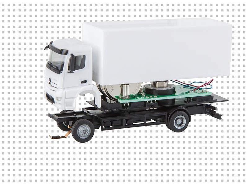 Car System Umbau-Chassis Zweiachser-LKW H0
