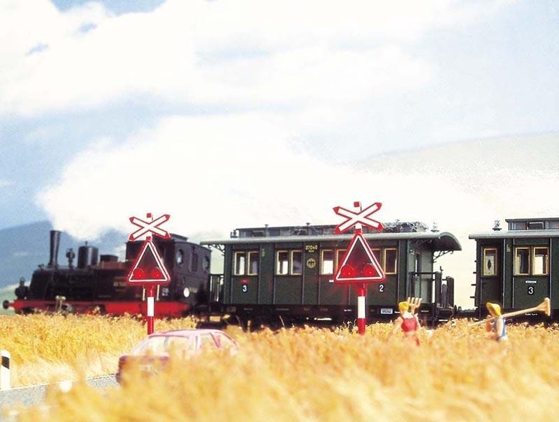 Bahnübergang Schweiz, Spur H0