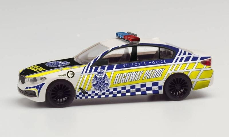 BMW 5er Limousine Victoria Police Highway Patrol, 1:87/ H0
