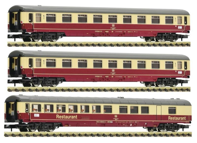 3-tlg. Set 2: Autoreisezug Christoforus-Express DB, Spur N
