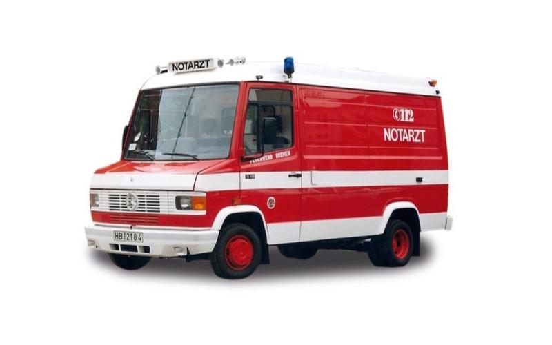 Mercedes-Benz T2 NAW Feuerwehr Bremen, 1:87 / Spur H0