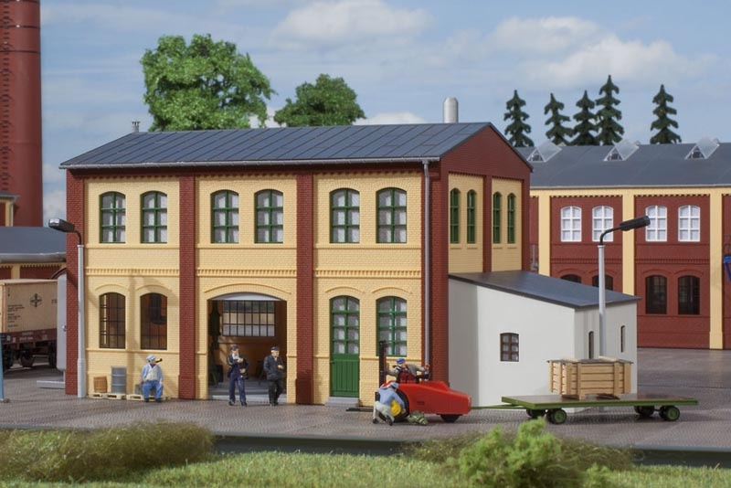 Schlosserei, Bausatz, Spur H0