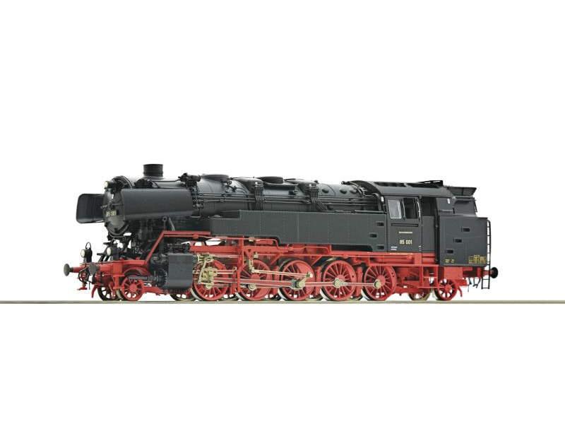 Dampflokomotive 85 001 der DB, Sound, Spur H0