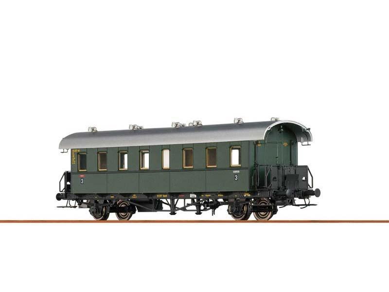 Personenwagen Bi 21 der DB, III, DC, Spur H0