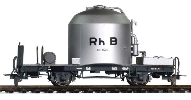 RhB Uce 8082 Zementtransportwagen 70/80er-Jahre, Spur H0m